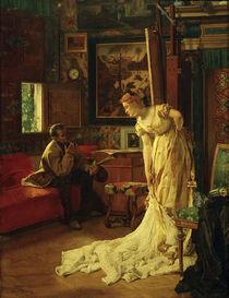 A.Stevens, Der Maler od. Das Atelier von AKG  Images