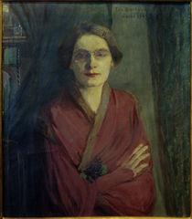 Ida Gerhardi, Selbstbildnis I 1903 von AKG  Images