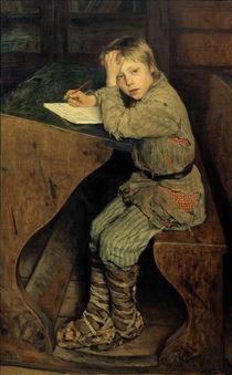 N.P.Bogdanow-Bjelski, Dorfschule, 1903 by AKG  Images