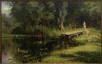 W.D.Polenow, Zugewachsener Teich by AKG  Images