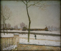 A.Sisley, Winterlandschaft by AKG  Images