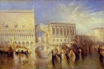 Venedig, Seufzerbrücke / Gemälde von William Turner by AKG  Images