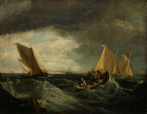 A.W.Callcott nach W.Turner, Sheerness and the Isle of Sheppey von AKG  Images