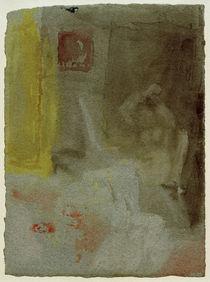 W.Turner, Schlafzimmer mit nackter Frau by AKG  Images
