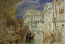 Venedig, S.Luca / Aquarell v. Turner by AKG  Images