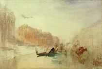 Venedig, Canal Grande / Aquarell v. Turner by AKG  Images