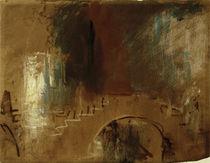 Venedig, Brücke / Aquarell v. Turner by AKG  Images