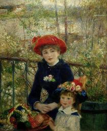 A.Renoir, Die beiden Schwestern by AKG  Images