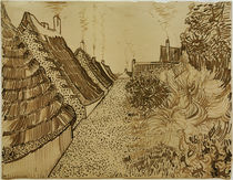 V. v. Gogh, Street in Saintes-Maries / Draw. by AKG  Images