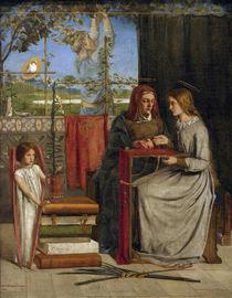 Rossetti / Girlhood of Mary Virgin by AKG  Images