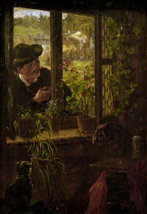Johann Sperl / At the Window by AKG  Images