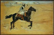 Slevogt / Arabs on horseback / 1914 by AKG  Images