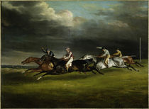 Horse Racing at Epsom / Gericault / 1821 by AKG  Images