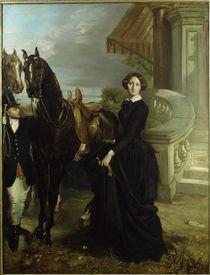 Th. Chassériau / Comtesse de Ranchicourt von AKG  Images