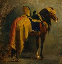Isidore Pils, Pferd mit Schabracke von AKG  Images