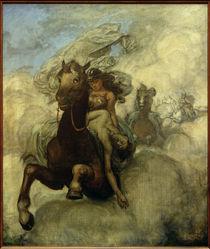 Wagner, Walküre / Walkürenritt / Gemälde von H.Thoma by AKG  Images