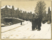 Amsterdam, Prins Hendrik Kade / M.Stern von AKG  Images