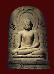 Buddha / Limestone, Indian, 9th Century by AKG  Images