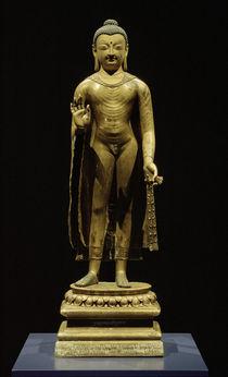 Buddha Sakyamuni / Skulptur, 7. Jhdt. by AKG  Images