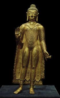 Buddha Sakyamuni / Skulptur, 7./8. Jhdt. von AKG  Images