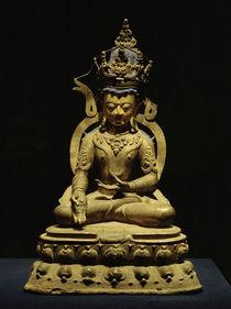 Tathagata Ratnasambhava / Skulptur, 1300 n. Chr. von AKG  Images