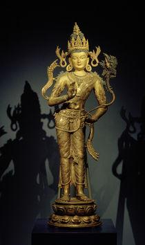 Bodhisattva Maitreya / Skulptur, 11.–12. Jhdt. von AKG  Images