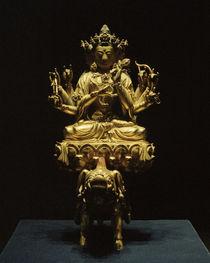 Gottheit Marici / Skulptur, 15. Jhdt. by AKG  Images