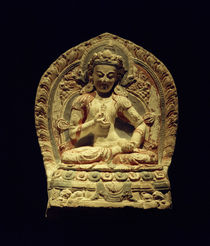 Buddha Vajrasattva / Skulptur, 15.–16. Jhdt. von AKG  Images