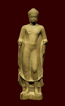 Buddha / kambodschanisch, Prä-Angkor-Periode, 7. Jh. by AKG  Images