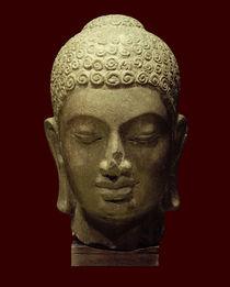 Kopf eines Buddha / kambodschanisch, Prä-Angkor-Periode, 7. Jh. von AKG  Images