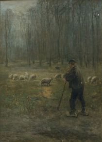 Jozef Israëls, The Shepherd by AKG  Images