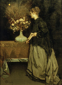Autumn Flowers / A. Stevens / Painting, c.1866/67 by AKG  Images