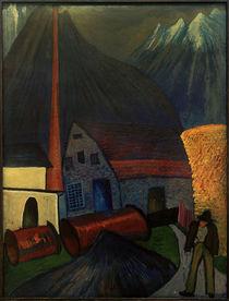M. v. Werefkin, Obersdorf (Schindelfabrik) / Gemälde by AKG  Images