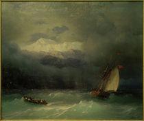 I.K.Aiwasowski, Stürmisches Meer by AKG  Images