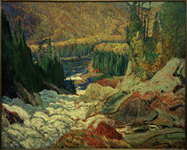 J.E.H.MacDonald, Falls, Montreal River by AKG  Images