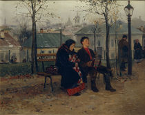 Makovsky / At the Boulevard/ 1886–87 by AKG  Images
