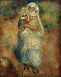 A.Renoir, Algerian woman and child by AKG  Images