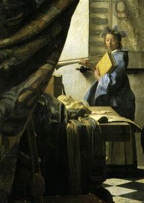 Vermeer / Art of Painting / Detail by AKG  Images