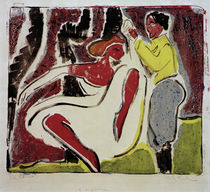 E.L.Kirchner / Russian Couple Dancing by AKG  Images
