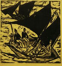 E.L.Kirchner, Segelboote bei Fehmarn von AKG  Images