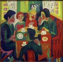 E.L.Kirchner, Kaffeetisch von AKG  Images
