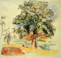 Renoir / Southern Landscape, Watercolour by AKG  Images