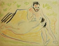 E.L.Kirchner / Couple on a Blanket by AKG  Images