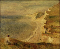 Renoir / Cliffs near Pourville by AKG  Images