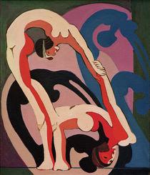 E.L.Kirchner, Akrobatenpaar von AKG  Images