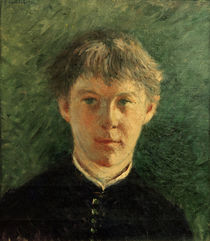 Caillebotte / Portrait d'un collégien by AKG  Images