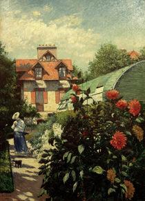 G.Caillebotte, Le jardin by AKG  Images
