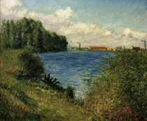 Caillebotte / Seine near Argenteuil by AKG  Images