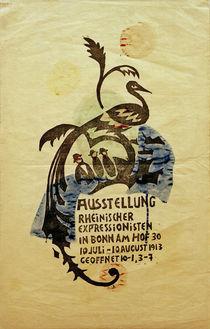 A.Macke, Plakatentw. Ausst. Rhein. Expr. II von AKG  Images
