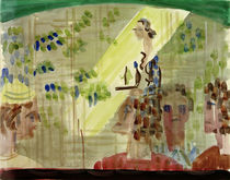 Ernst Ludwig Kirchner, Café scene with waitress, seen through a window by AKG  Images
